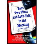 img - for Rent Two Films & Let's Talk in Morning - Using Popular Movies in Psychotherapy (2nd, 02) by Hesley, John W - Hesley, Jan G [Paperback (2001)] book / textbook / text book