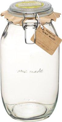 Kitchen Craft Deluxe Glass Preserving Jar, 2100 g (74 oz)