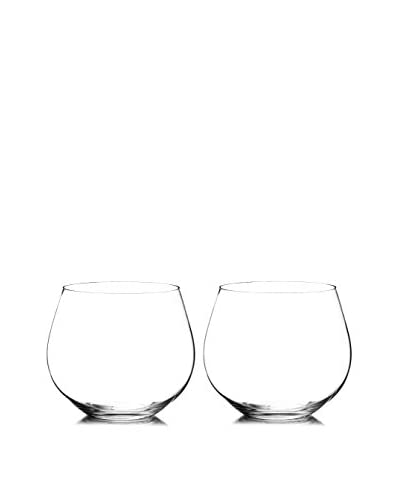 Riedel Set of 2 O 20.75-Oz. Chardonnay Stemless Wine Glasses, Clear