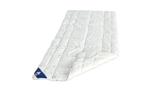 Badenia Bettcomfort 03780290159 Spannunterbett Irisette Merino wash 90 x 200 cm weiß thumbnail