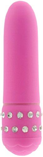 Toy Joy Diamond Pink Small Vibrator 11.5 cm x 2.5 cm Waterproof