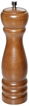 Adcraft PEP-8 8 Walnut Finish Wood Pepper Mill by Adcraft
