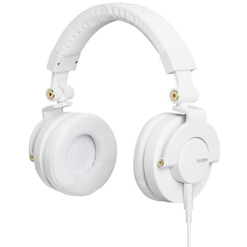 Nixon Rpm Headphones White/Gold, One Size