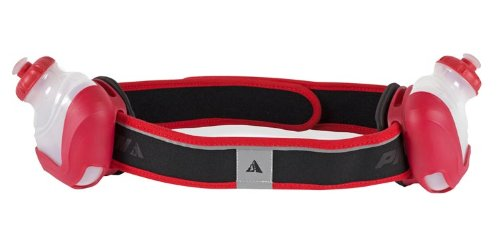 SYNC Profile Design Sync Hydration System 2 Bottle Belt (Black/Red, Small)