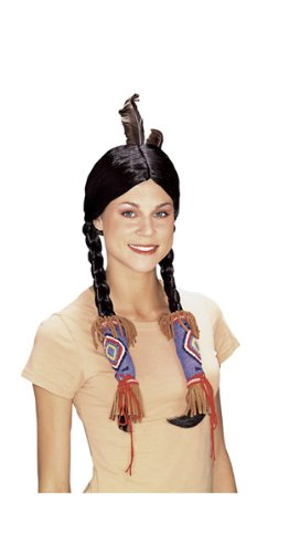 Rubie's Costume Adult Indian Maiden Wig