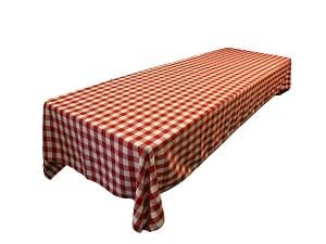 Linentablecloth 60 x 102 inch rectangular for 102 inch table runners