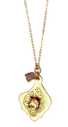 Pilgrim Gold Plated Pendant Necklace