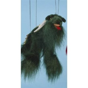 Magical Dragon Green Small Marionette by Sunny Puppets