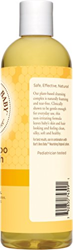 Burt's Bees Baby Shampoo & Wash, Original, 12 Ounces (Pack of 3) (Packaging May Vary)