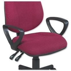 Trexus Intro Optional Fixed Arms for Office Chair [Pair]