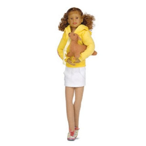 BRIANA JOY YELLOW JACKET WHITE SKIRT WITH DOG