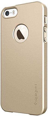 SPIGEN SGP 国内正規品SPIGEN SGP iPhone 5s / 5 ケース ウルトラ・フィットA [シャンパン・ゴールド] ECO-Friendly Packaging SGP10606
