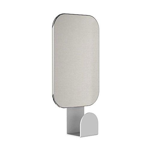 FROST Unu Spiegel 4121 mit Haken rechteckig, weiß 16x8cm