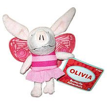 Olivia Mini Butterfly Beanbag Plush - 1