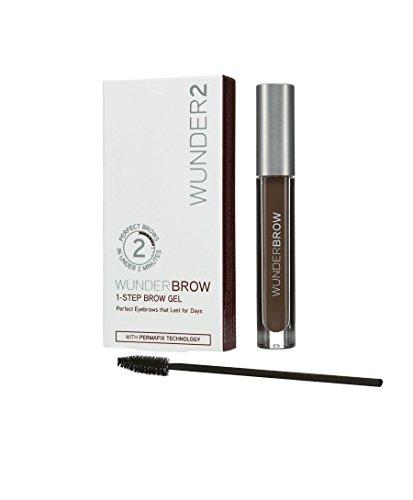 Wunder2 WUNDERBROW - Perfekte Augenbrauen in 2 Minuten - schwarzbraun thumbnail