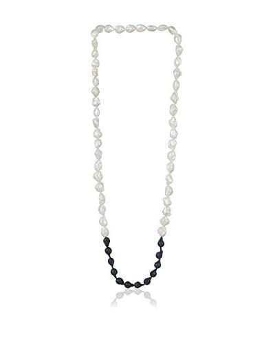 Bentelli Collana Pearls Bianco/Nero