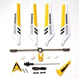 Syma S107 Full Replacement Parts Set for Syma S107 RC Helicopter (Yellow)