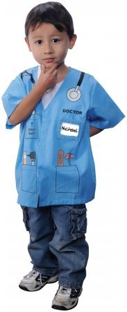 My First Career Gear - Doctor Blue Toddler Costume