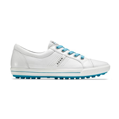 Ecco 2013 Street Ladies Golf Shoes - White / Bliss