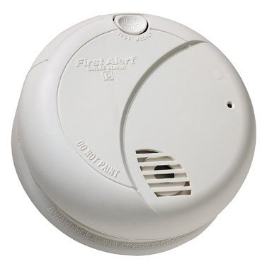 First Alert SA710LCN Long Life Photoelectric Smoke Alarm with Silence