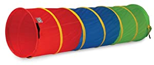 Pacific Play Tents 6' Find Me Multi Color Tunnel from Pacific Play Tents
