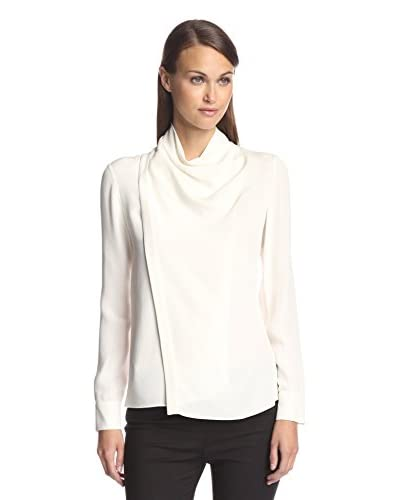 Derek Lam Women's Wrapped Collar Blouse