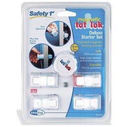 Safety 1st Magnetic Tot Lok Complete Set - 2 Packs - 1