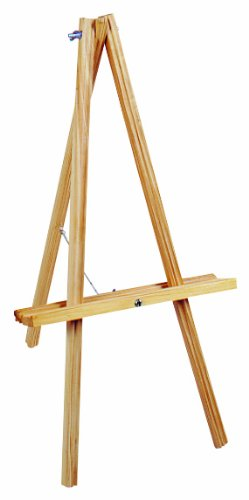 NATURAL WOOD TABLE EASEL-20