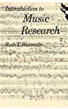 img - for Introduction to Music Research book / textbook / text book