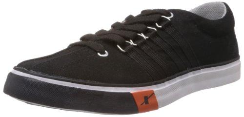Sparx-Mens-Black-Canvas-Sneakers