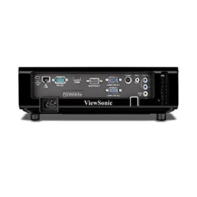 ViewSonic PJD6683ws 30-300-inch DLP Projector