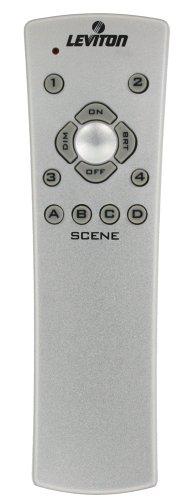 Leviton Vrmr1-Sg Vizia Rf + Infrared Handheld Remote Controller