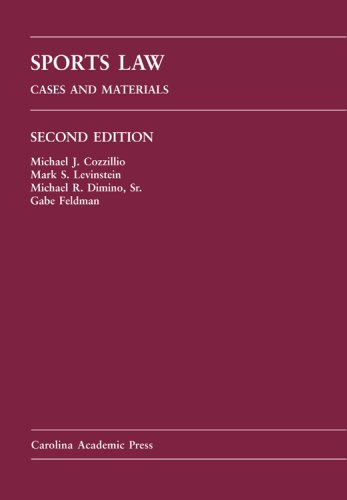 Sports Law: Cases and Materials