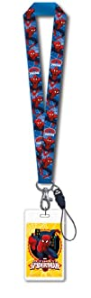 Marvel Ultimate Spider-Man Lanyard with Card Holder