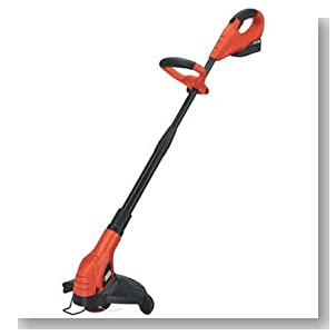 Factory-Reconditioned Black & Decker NST2118R 18V Cordless 12-in Straight Shaft Electric String Trimmer / Edger