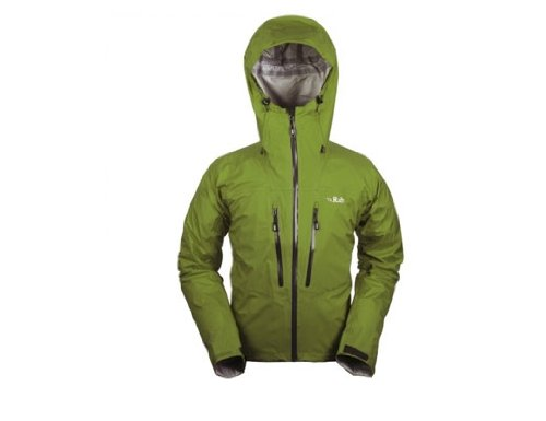Rab Momentum Waterproof Shell Jacket BL Black