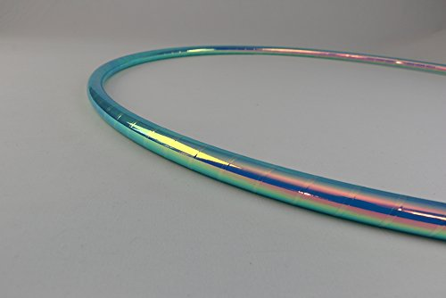 Color Changing Polypro Hula Hoop for Dance and Fitness (Brilliant Mermaid, 30