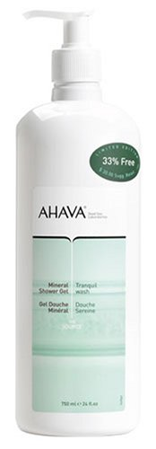 Ahava Limited Edition, Triple Size Shower Gel with pump, 24oz