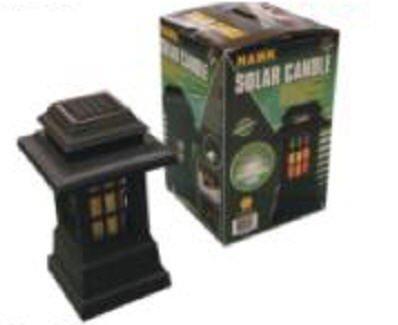 Hawk Solar Candle Lantern