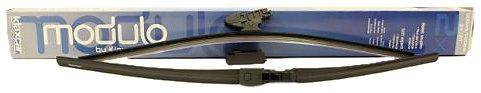 """Klaxcar France 33981Z - Set Di 2 Spazzole Tergicristallo Piatte, 600 mm + 500 mm / 24""""+20"""""""