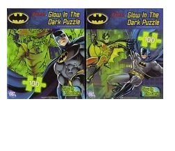 Batman Glow in the Dark 100 Piece Jigsaw Puzzle (Designs Vary) - 1