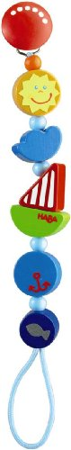 Haba 301117 Ship Ahoy Pacifier Chain