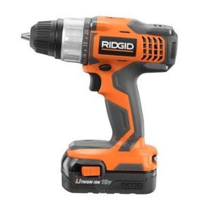 Factory-Reconditioned Ridgid ZRR86007 18V Cordless Lithium-Ion Max Compact Drill/Driver with 2 Batteries