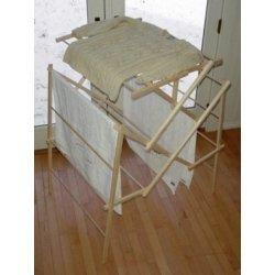 Wooden Drying Rack Space Saving Foldaway 56 ft White Pine  54 h x 30 wB0000TR5MC : image
