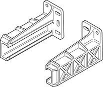 Blum Rear Mounting Bracket For 230m Drawer Slides Pair