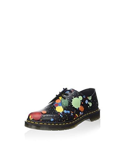 Dr. Martens Scarpa Stringata 1461 Splatter Smooth  [Nero/Multicolore]