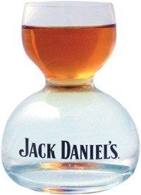 Jack Daniel's Double Bubble Chaser Jigger Shot Glass - 6 Oz by Jack Daniel's