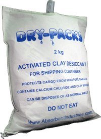 Container & Cargo Dry With Hanging Hook by Dry-Packs - 4.5LBS & 2KG