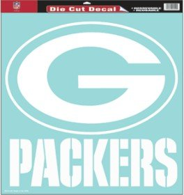 "Green Bay Packers 18""x18"" Die Cut Decal by AWM"