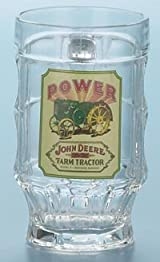 John Deere Glass Beer Power Mug